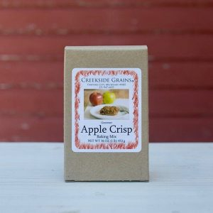 Friskes Farm Market Michigan Charlevoix apple crisp baking mix