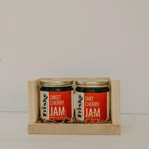 Friskes Farm Market Michigan Charlevoix jam sweet cherry jam tart cherry