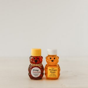 Michigan honey baby bear gift cherry