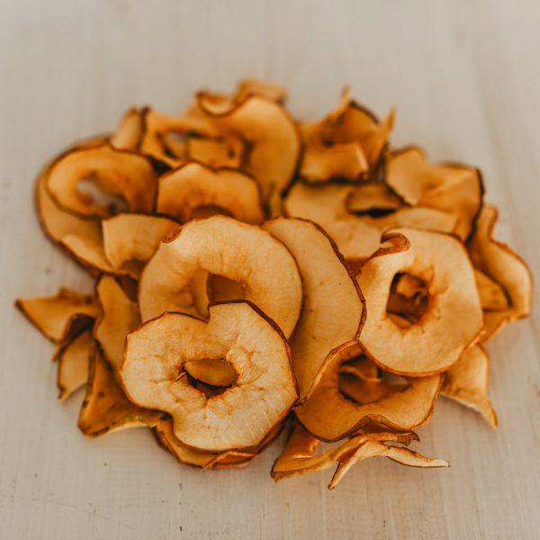 Friskes Farm Market Michigan Charlevoix apple chips no sugar added dried apple rings