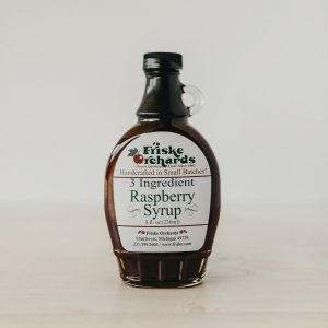 Friskes Farm Market Michigan red raspberry pancake syrup