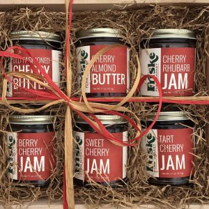 Cherry Jam Wooden Gift Crate