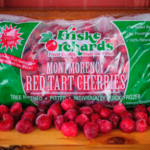 Friske Orchards Pitted Frozen Cherries Red Tart Michigan Cherry Pie IQF