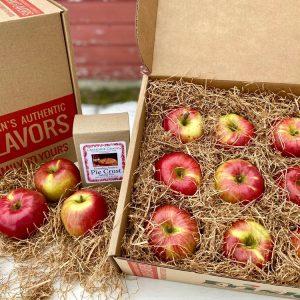 apple pie gift box fresh apple gift pack northern spy apples