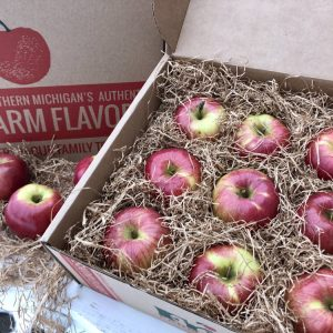 Friskes Farm Market Michigan Charlevoix ship michigan northern spies spy to home fresh apple gift box boxes
