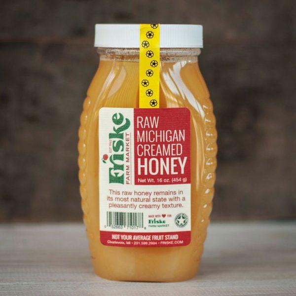 Raw Creamed Honey
