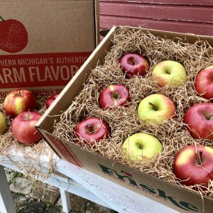 Fresh apple gift box northern michigan apples ship charlevoix