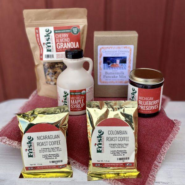 Best breakfast basket gift box Michigan