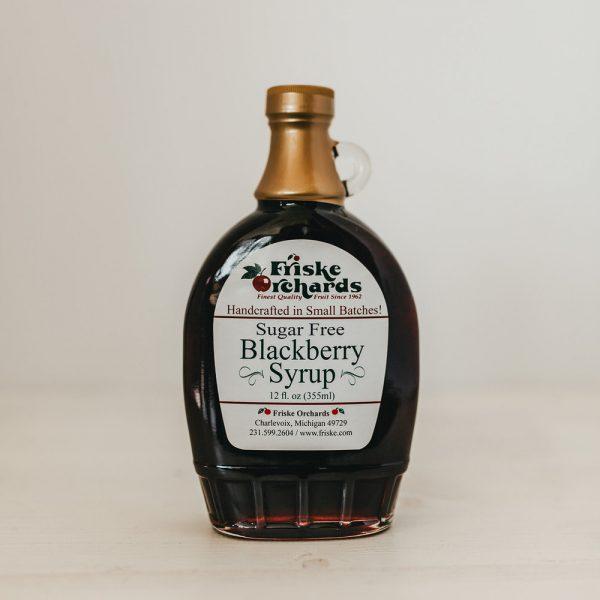 sugar free blackberry syrup friske farm market charlevoix michigan