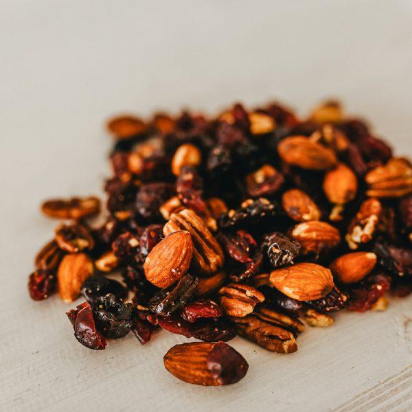 Friskes Farm Market Michigan Charlevoix cherry berry nut mix trail