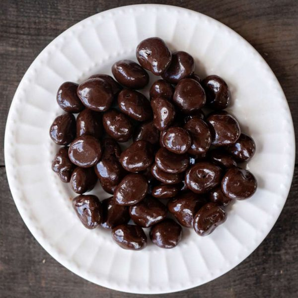 dark chocolate dried cherries
