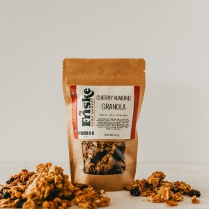 Friskes Farm Market Michigan Cherry almond granola homemade