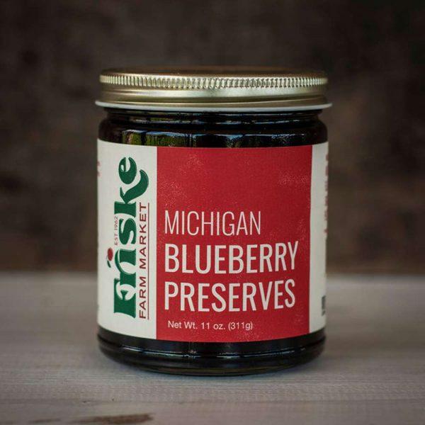 Michigan blueberry preserves