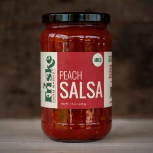 friske orchards farm market peach salsa michigan fruit