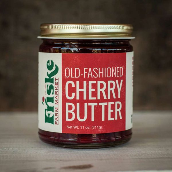 Friskes Farm Market Michigan Old fashioned cherry butter red tart montmorency cherries sour cherry traverse city