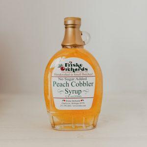 Friskes Farm Market Michigan Charlevoix peach syrup sugar free
