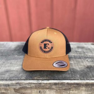 Camel Black Logo Hat