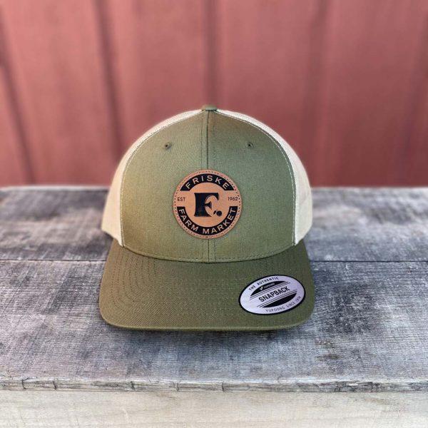 Green Khaki Logo Hat