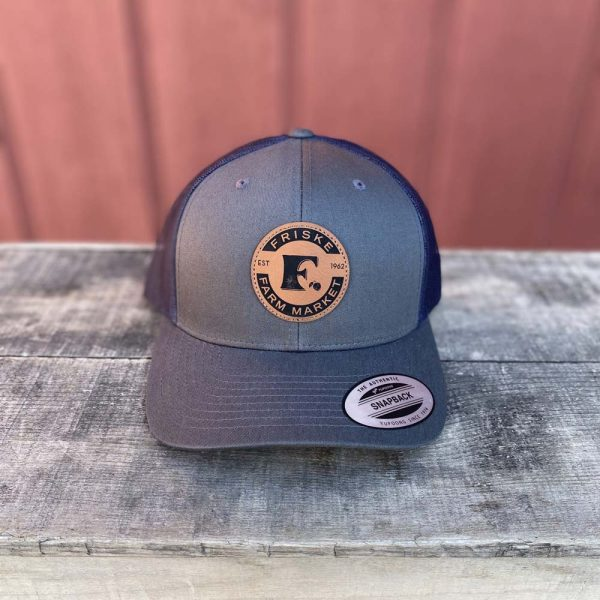 Charcoal Navy logo Hat