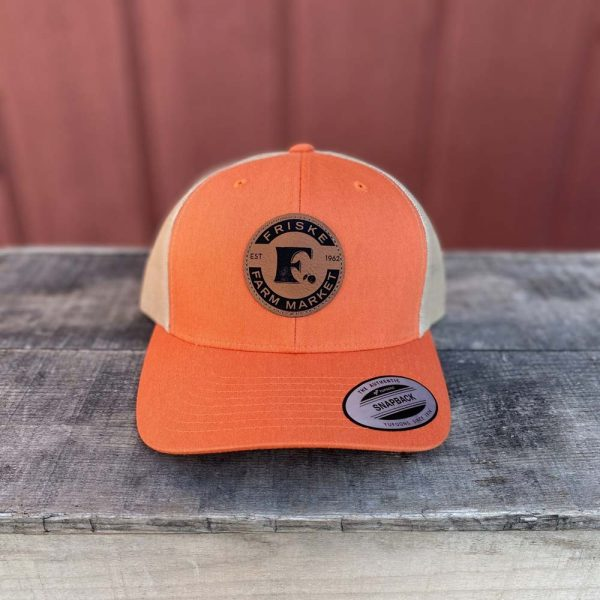 Orange Khaki Logo Hat