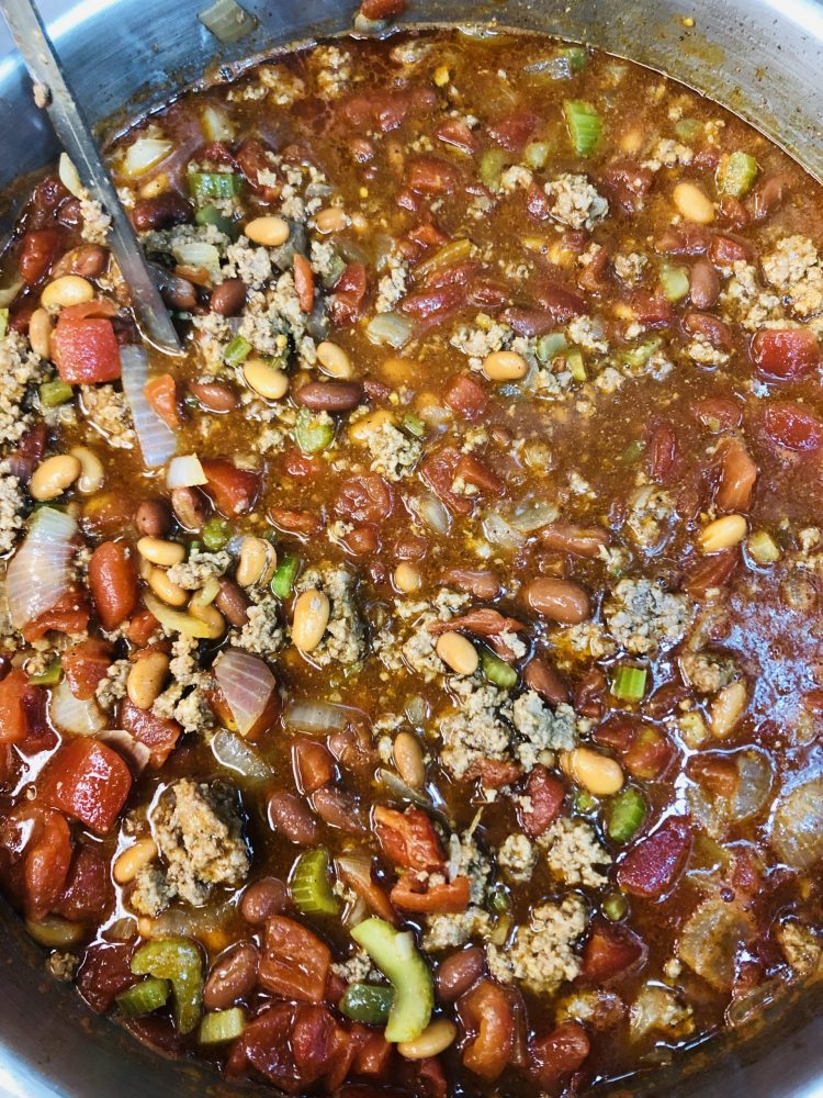 Homemade Chili best catering northern michigan