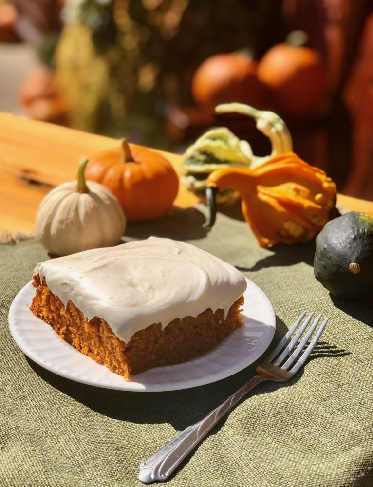 Pumpkin Cake best catering northern michigan