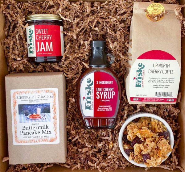 Cherry Breakfast Gift Box