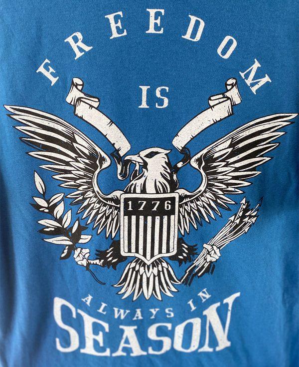 Patriotic Freedom T-Shirt Royal